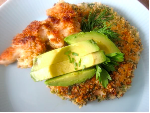 Gluten-free Chicken Tenders, dairy free, paleo diet, primal blueprint diet friendly.