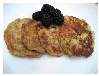 Paleo pancakes. Good for paleo diets, primal blueprint diets, gluten free, dairy free, grain free diets.