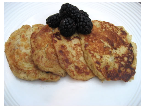 Paleo and primal blueprint friendly pancakes!