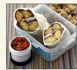 Plantain Wraps With Tangy Black Bean Spread, gluten free, gluten free kids meals